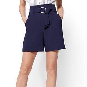 NWT) NY&Co High-Waist Paperbag Shorts